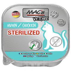 Mac's - Nassfutter - Katze Vetcare Huhn Sterilized
