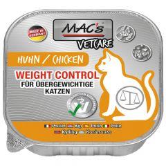 Mac's - Nassfutter - Katze Vetcare Weight Control Huhn