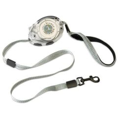 Planet Dog - Hundeleine - Zip Lead chromfarben