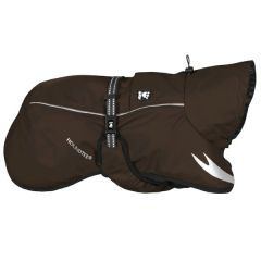 Hurtta - Hundebekleidung - Regenmantel Torrent Coat braun