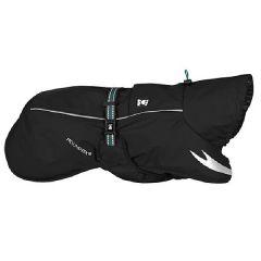 Hurtta - Hundebekleidung - Regenmantel Torrent Coat schwarz