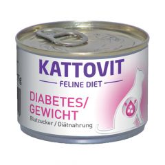 Kattovit - Nassfutter - Feline Diet Diabetes / Gewicht
