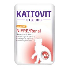 Kattovit - Nassfutter - Feline Diet Niere / Renal mit Huhn