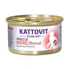 Kattovit - Nassfutter - Feline Diet Niere / Renal mit Lamm