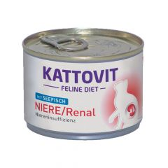 Kattovit - Nassfutter - Feline Diet Niere / Renal mit Seefisch