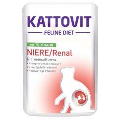 Kattovit - Nassfutter - Feline Diet Niere / Renal mit Truthahn