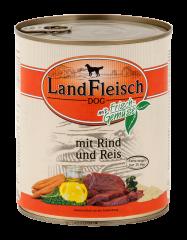 Landfleisch - Nassfutter - Pur Rind & Reis extra mager