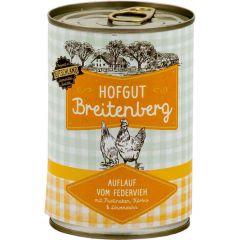 Hofgut Breitenberg - Nassfutter - Auflauf vom Federvieh (getreidefrei)