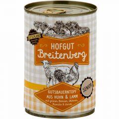 Hofgut Breitenberg - Nassfutter - Gutsbauerntopf aus Huhn und Lamm Senior (getreidefrei)