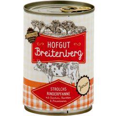 Hofgut Breitenberg - Nassfutter - Strolchs Rinderpfanne Junior (getreidefrei)