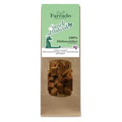 Farrado - Katzensnack - gefriergetrocknet - Snack al Naturale 100% Hühnerleber (getreidefrei)