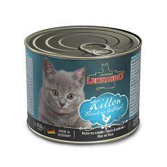 Leonardo - Nassfutter - Kitten 6 x 200g (getreidefrei)