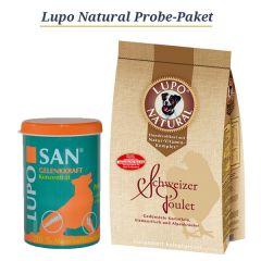 Lupo Natural & Luposan - Hundefutter - TV-Angebot - Probe Paket (AUSGELISTET AM 20160815)
