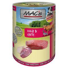 Mac's - Nassfutter - Kalb & Ente (getreidefrei)