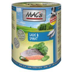 Mac's - Nassfutter - Lachs & Spinat