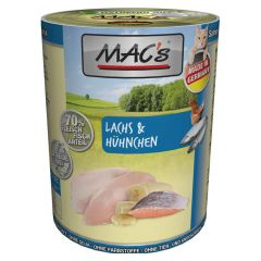 Mac's - Nassfutter - Lachs & Hühnchen (getreidefrei)
