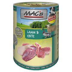 Mac's - Nassfutter - Lamm & Ente (getreidefrei)