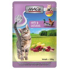 Mac's - Nassfutter - Pouch Pack Ente & Geflügel (getreidefrei)