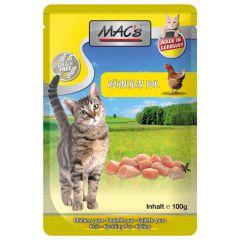Mac's - Nassfutter - Pouch Pack Hühnchen Pur (getreidefrei)