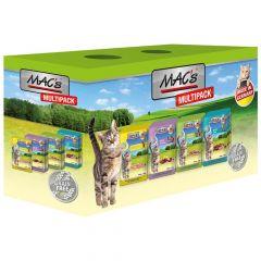 Mac's - Nassfutter - Pouch Pack Multipack nur Fleisch (getreidefrei)