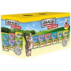 Mac's - Nassfutter - Pouch Pack Multipack (getreidefrei)