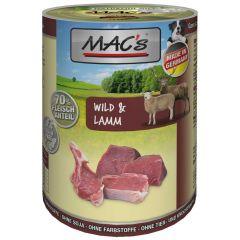 Mac's - Nassfutter - Wild & Lamm