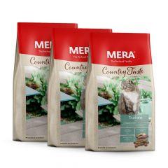 Mera - Trockenfutter - Probierpaket Country Taste 3 x 400g