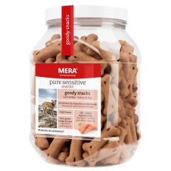 Mera - Hundesnack - Pure Sensitive Goody Snacks Lachs & Reis
