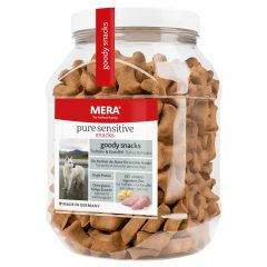 Mera - Hundesnack - Pure Sensitive Goody Snacks Truthahn & Kartoffel (getreidefrei)