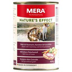 Mera - Nassfutter - Nature's Effect Ente mit Rosmarin, Karotten und Kartoffeln (getreidefrei)