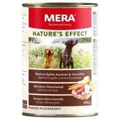 Mera - Nassfutter - Nature's Effect Rind mit Äpfeln, Karotten und Kartoffeln (getreidefrei)