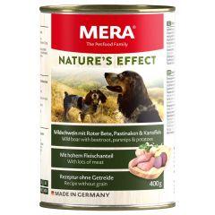 Mera - Nassfutter - Nature's Effect Wildschwein mit Rote Bete, Pastinaken und Kartoffeln (getreidefrei)