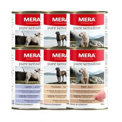 Mera - Nassfutter - Pure Sensitive Mixpaket (getreidefrei)