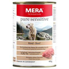 Mera - Nassfutter - Pure Sensitive Rind (getreidefrei)