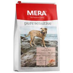 Mera - Trockenfutter - Pure Sensitive Adult Lachs & Reis 12,5kg