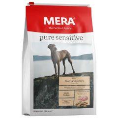 Mera - Trockenfutter - Pure Sensitive Adult Truthahn & Reis 12,5kg