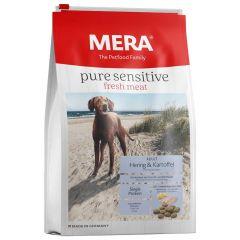 Mera - Trockenfutter - Pure Sensitive Fresh Meat Adult Hering & Kartoffel 12,5kg (getreidefrei)