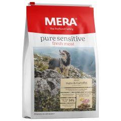 Mera - Trockenfutter - Pure Sensitive Fresh Meat Adult Huhn & Kartoffel High Protein (getreidefrei)