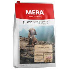 Mera - Trockenfutter - Pure Sensitive Junior Truthahn & Reis 12,5kg