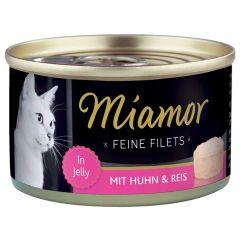 Miamor - Nassfutter - Feine Filets mit Huhn und Reis