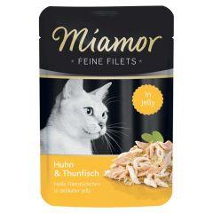 Miamor - Nassfutter - Feine Filets mit Huhn und Thunfisch