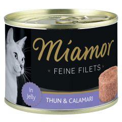 Miamor - Nassfutter - Feine Filets mit Thun und Calamari