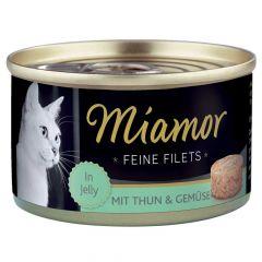 Miamor - Nassfutter - Feine Filets mit Thun und Gemüse