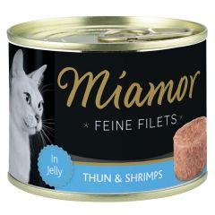 Miamor - Nassfutter - Feine Filets mit Thun und Shrimps