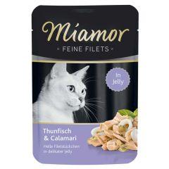 Miamor - Nassfutter - Feine Filets mit Thunfisch und Calamari