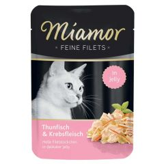 Miamor - Nassfutter - Feine Filets mit Thunfisch und Krebsfleisch