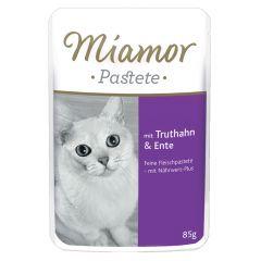 Miamor - Nassfutter - Pastete mit Truthahn und Ente