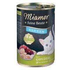 Miamor - Nassfutter - Feine Beute Kitten Geflügel (getreidefrei)