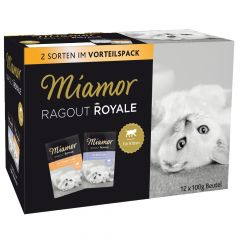 Miamor - Nassfutter - Ragout Royale in Jelly Multibox Kitten