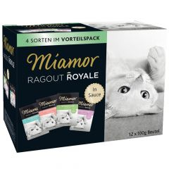 Miamor - Nassfutter - Ragout Royale in Sauce Multibox Mix